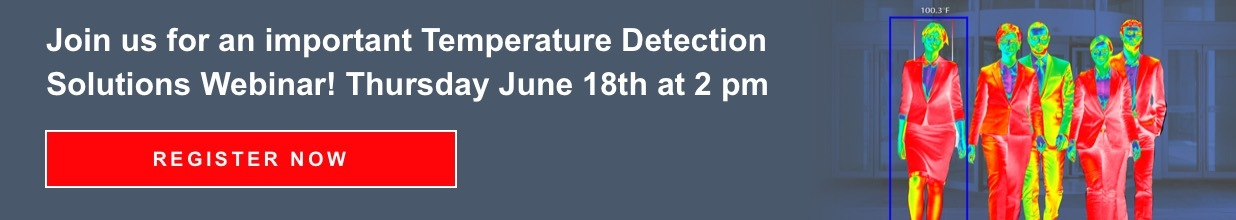 Temperature Detection Webinar Banner